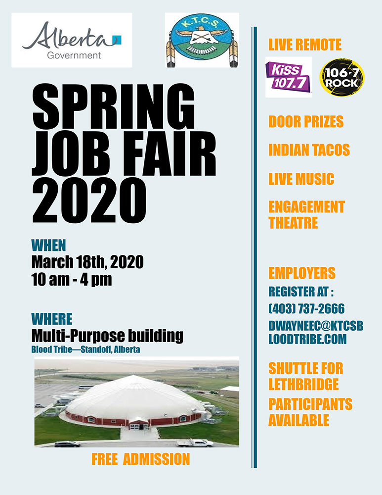 Spring Job Fair Poster